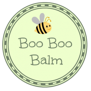 boo boo balm label