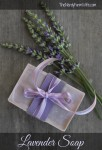 homemade lavender soap recipe (from scratch)