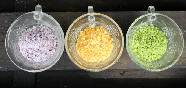 naturally colored coconut flakes