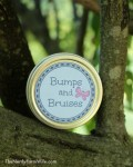 Bumps & Bruises Balm with Printable Labels