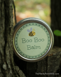 boo boo balm with printable labels