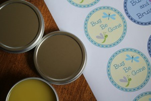 printable labels for bug be gone salve