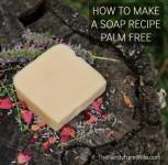 how to make a soap recipe palm free