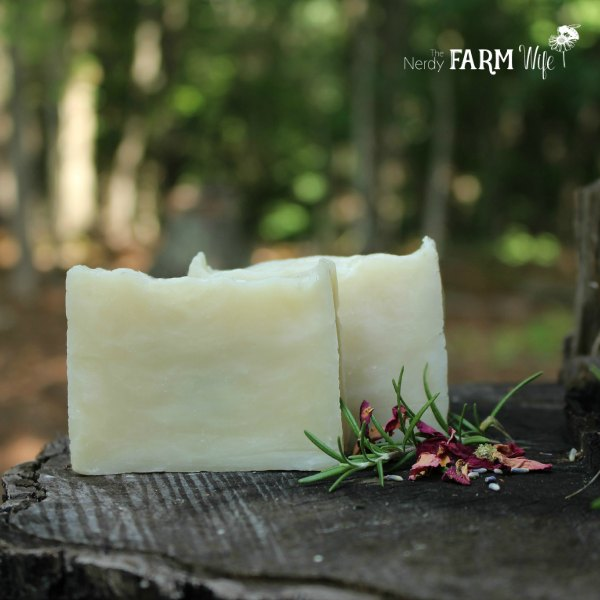 DIY Rosemary Mint Shampoo Bars Recipe