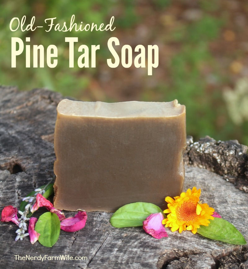 Old Fashioned Pine Tar Soap (Palm Free)