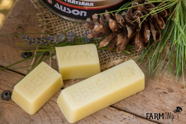 Beeswax for Making Pine Tar Salve