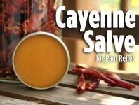 Cayenne Salve for Pain Relief