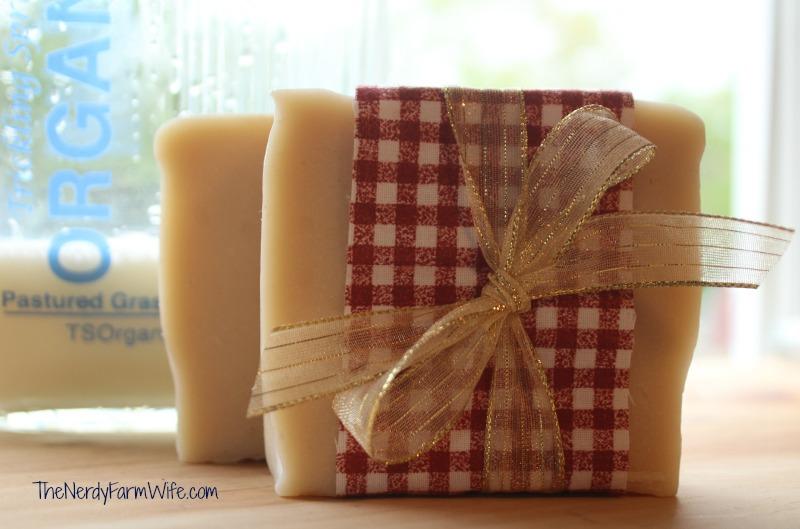 homemade milk soap from scratch