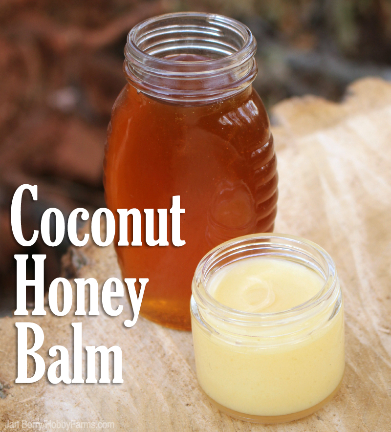 coconut honey balm