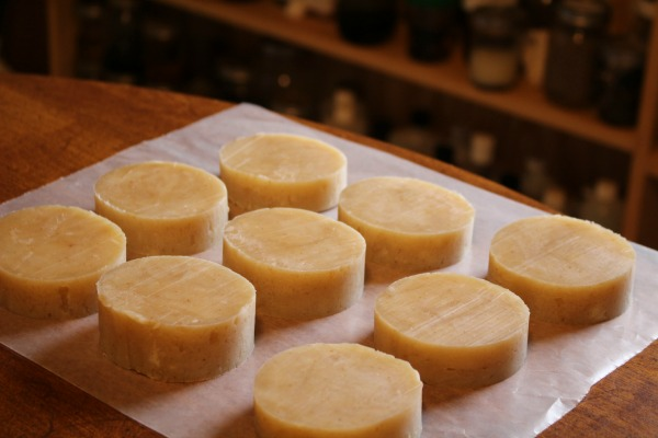 Slices of Oatmeal & Honey Hot Process Soap