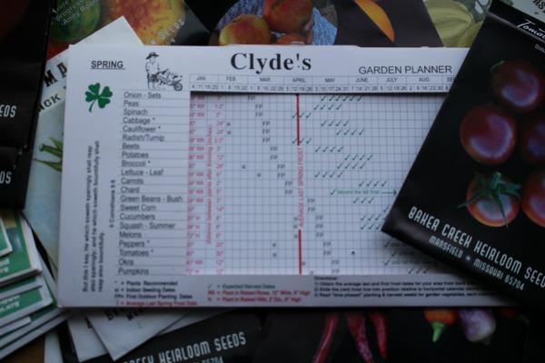 Clydes Garden Planner