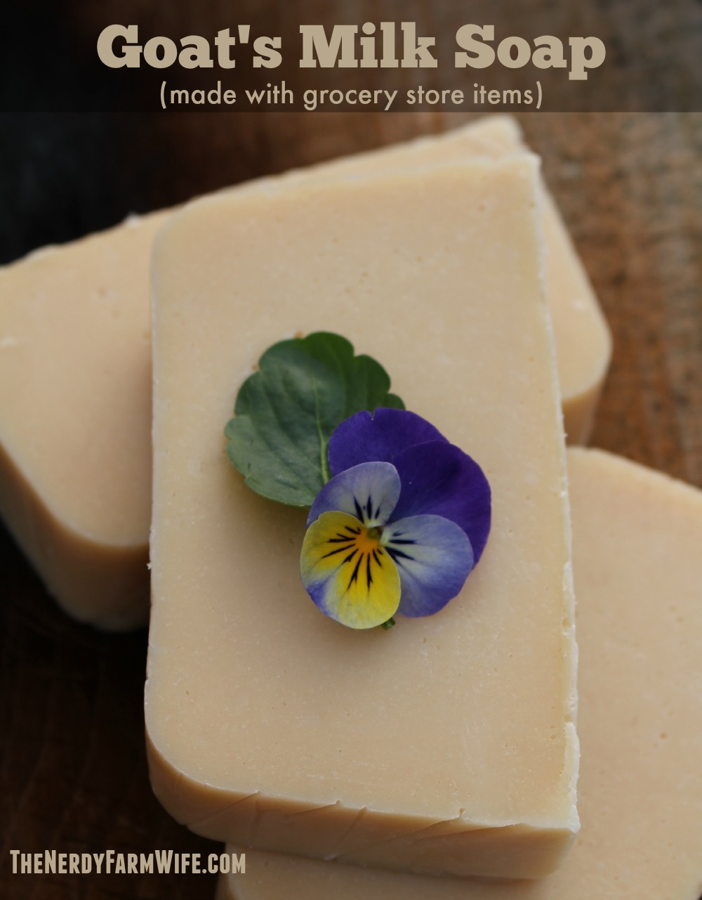 How to Make Goat's Milk Soap Using Oils and Canned Goat's Milk from the Grocery Store