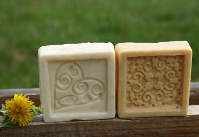 Dandelion Hot Process Soap