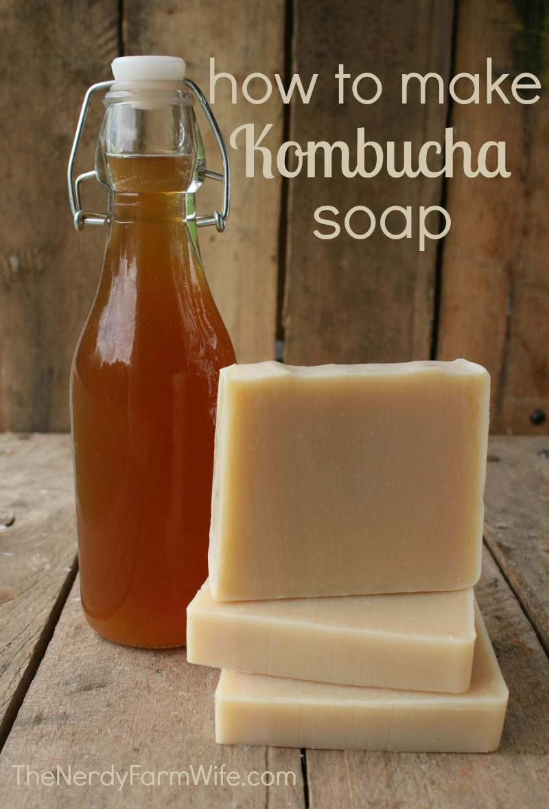 How to Make Kombucha Soap Palm Free Recipe