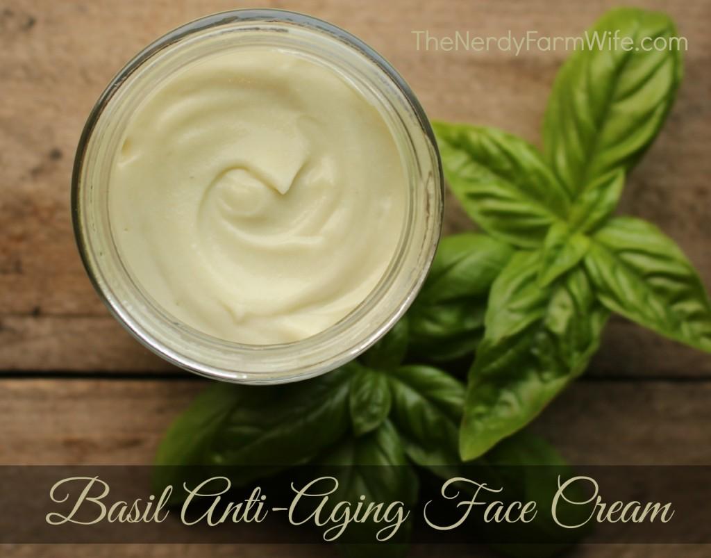 Basil Anti-Aging Face Cream Recipe