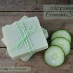 Palm Free Cucumber Soap Recipe