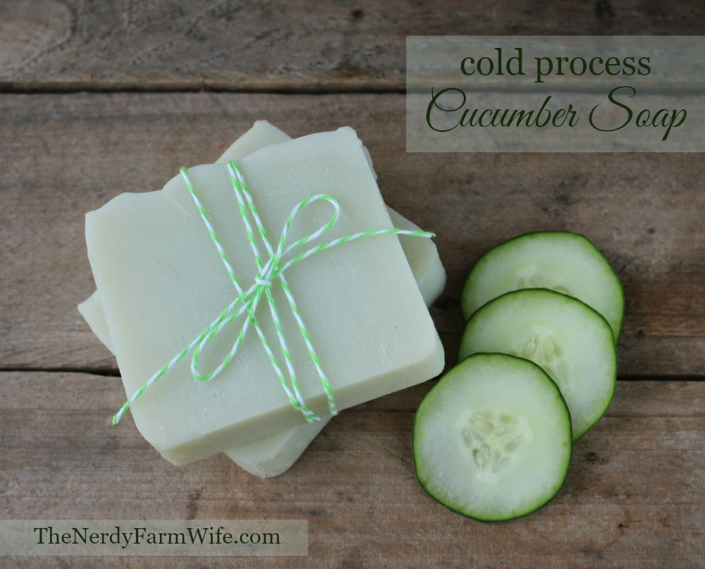 Cold Process Cucumber Soap Recipe | Most-Liked Homemade Soap Recipes For Frugal Homesteaders