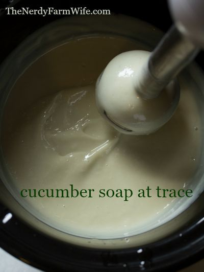 cucumber soap at trace