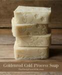 Goldenrod Cold Process Soap Recipe
