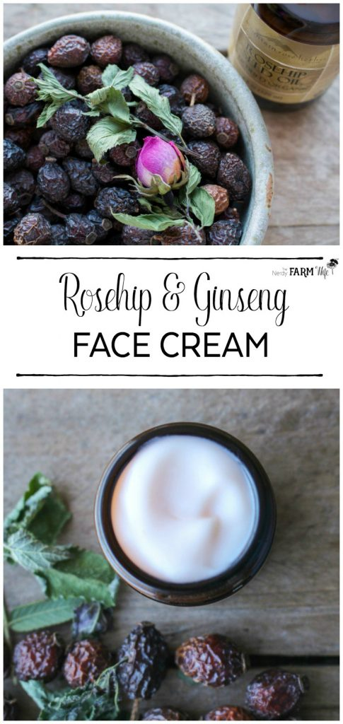 Rosehip and Ginseng Face Cream Recipe
