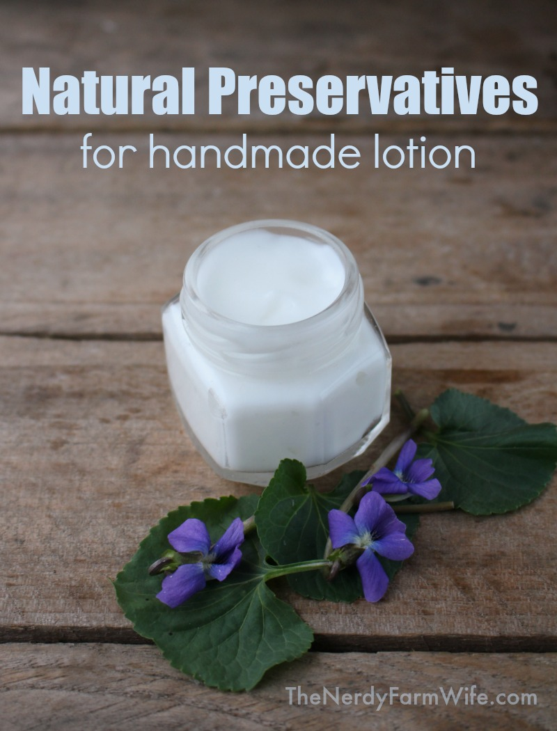 Natural Preservatives for Homemade Lotion (An Experiment) – The ...
