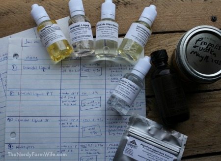 Some natural preservative choices for homemade lotions and creams