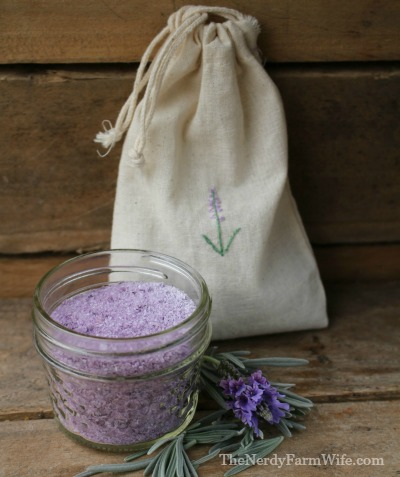Pansy & Lavender Bath Soak