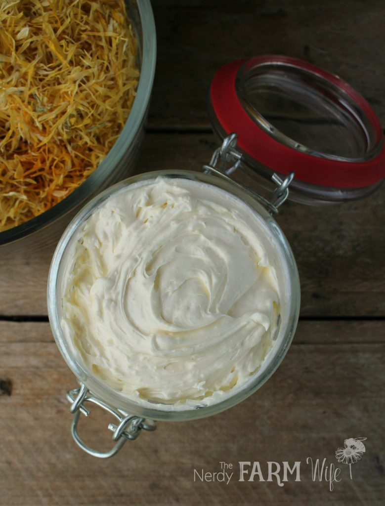 Calendula Whipped Body Butter Recipe