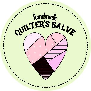 green quilter's salve label