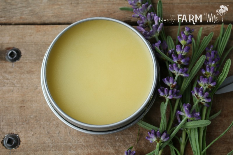 10 Things to Make With Lavender - Lavender Salve
