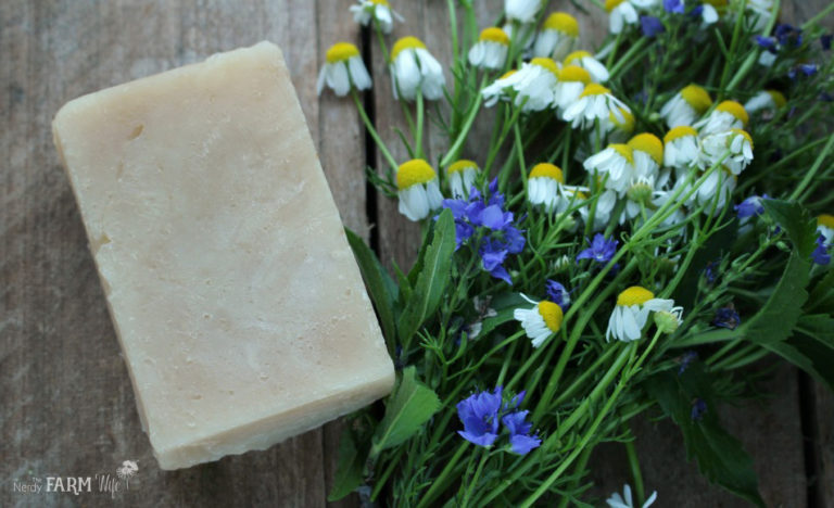 Chamomile Tea & Honey Shampoo Bar Recipe