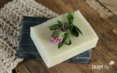 How to make an all natural simple organic soap recipe from scratch