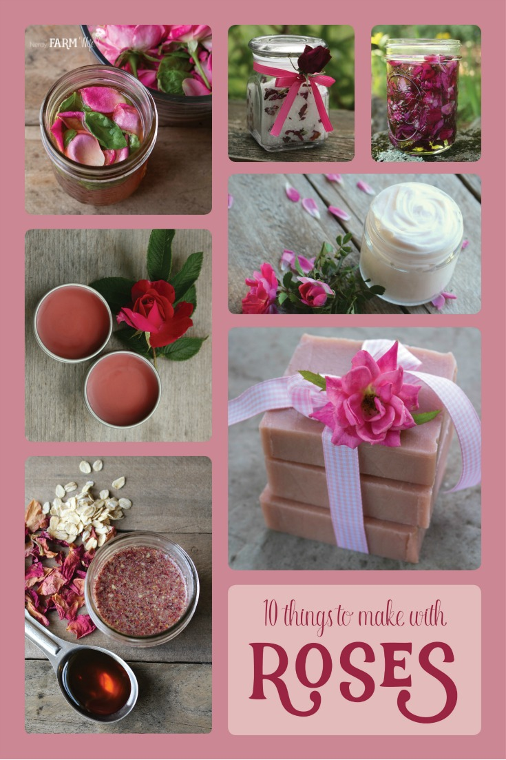 10 Lovely Things to Make With Roses