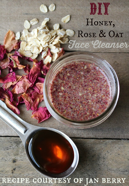 Rose Honey & Oat Face Cleanser