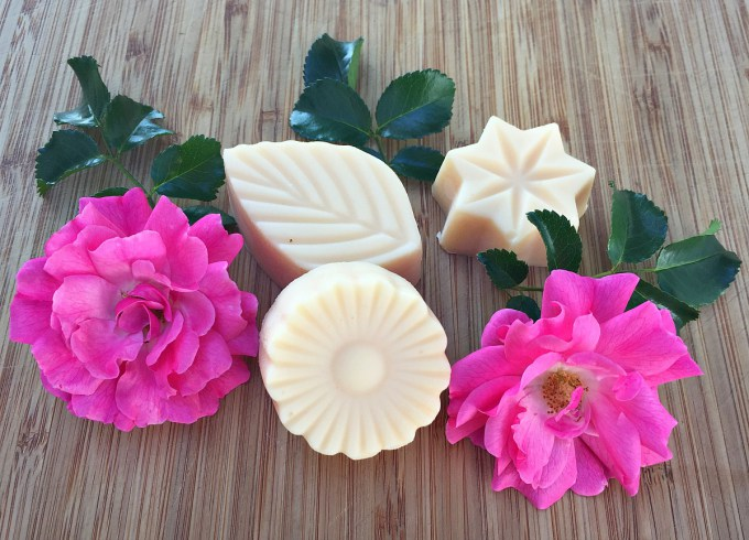 Lotion Bars From Fresh Roses