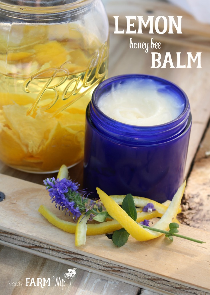 Lemon Honey Bee Balm Recipe