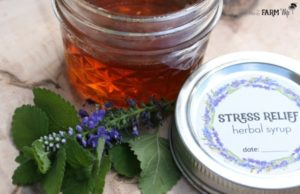 stress relief syrup recipe