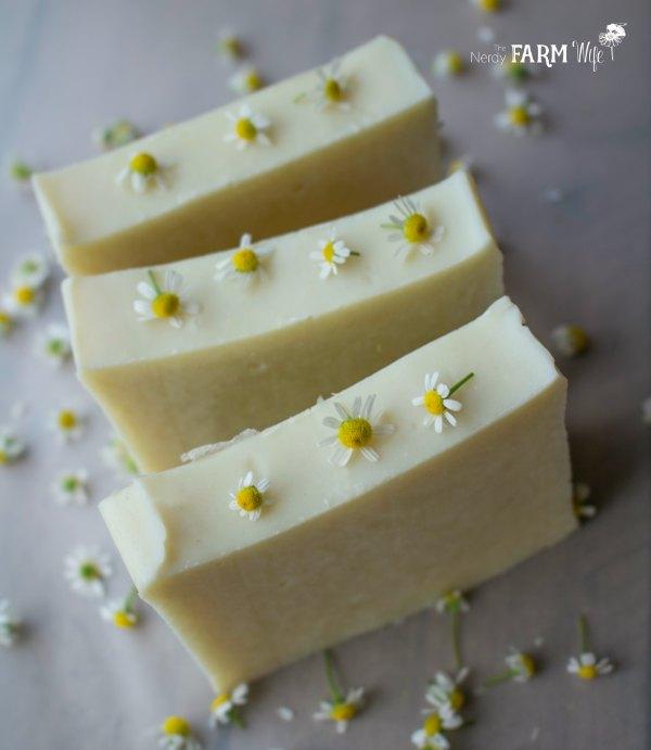 """Chamomile """"Almost"""" Castile Soap Recipe"""