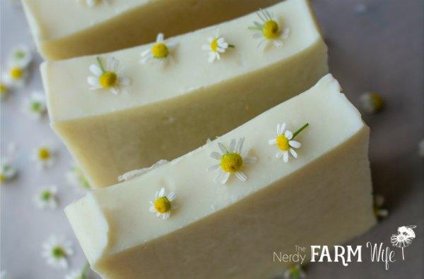 chamomile soaps