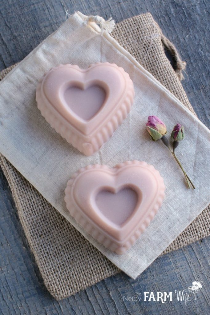 Rose Clay Cold Process Soap Recipe