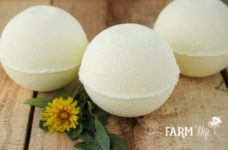 All Natural Dandelion Bath Bombs Recipe