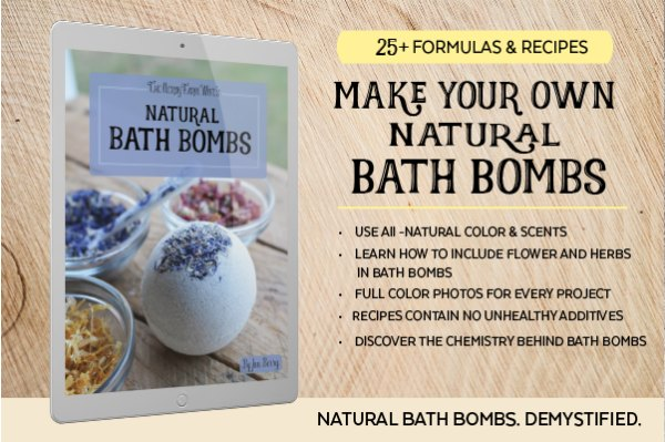 cover of Natural Bath Bombs ebook