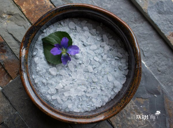 Violet Flower Soak Recipe