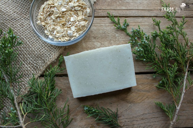 Cedarwood and Oatmeal Soap Recipe
