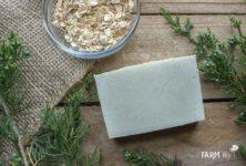 Cedarwood & Oatmeal Cold Process Soap Recipe