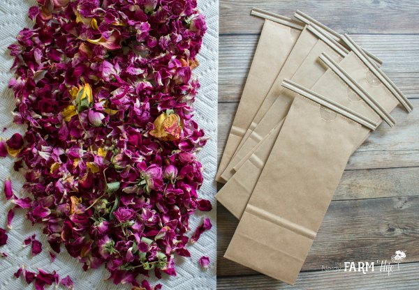 Packaging Dried Flowers