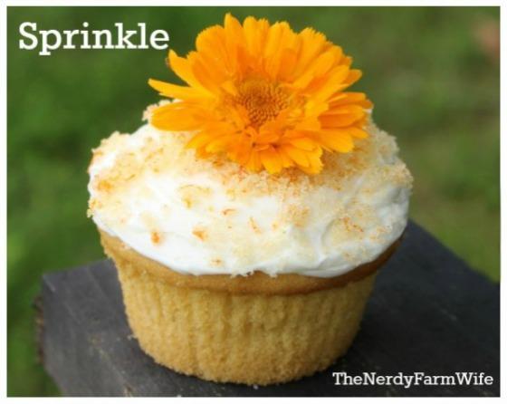 Calendula Cupcake Sprinkles