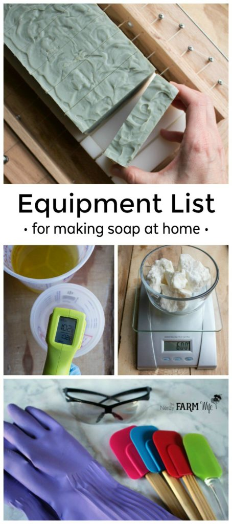 Find out what essential equipment you need to begin making handmade soap at home