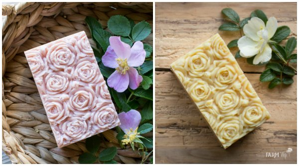 Rose-Soap-Mold-Soaps