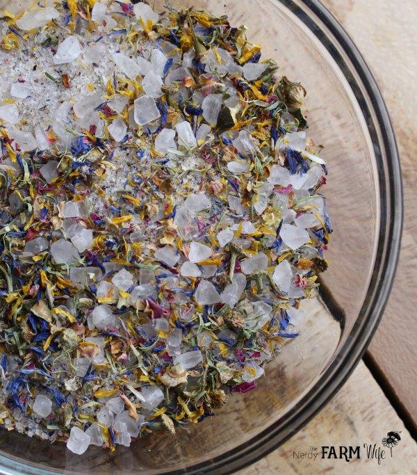Flower Garden Bath Soak Blend
